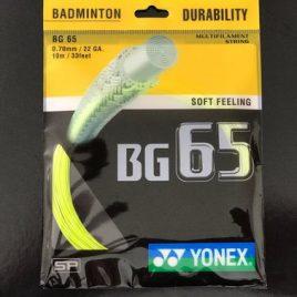 Yonex BG65 Fluo Yellow