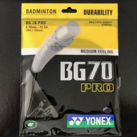 Yonex BG70 Pro Black